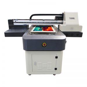 a4-størrelse digital uv trykkeri pvc lærred klud tæppe læder printer