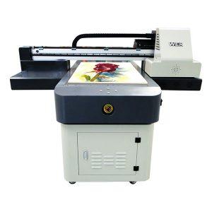 varmt salg a1 / a2 / a3 / a4 lille format digital uv flatbed printer 6090