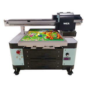 god pris a2 flatbed lille uv printer med epson print hoved
