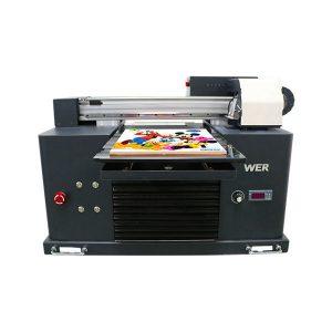 mini a3 flatbed uv printer til epson 1390 printerhoved 6 farver