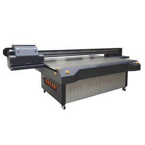 UV flatblæk inkjet printer WER-ET2513UV printhoved høj hastighed