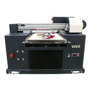 a4 dtg flatbed bomuldsstof printer t-shirt trykning maskine