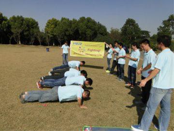 Aktiviteter i Gucun Park, efterår 4 2017