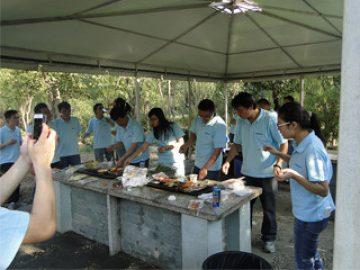 BBQ i Gucun Park, efterår 2017